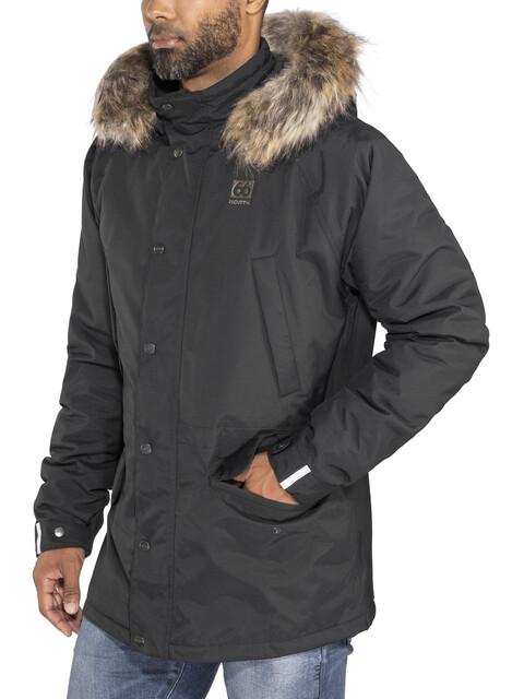 66° North Hekla Parka Men Black